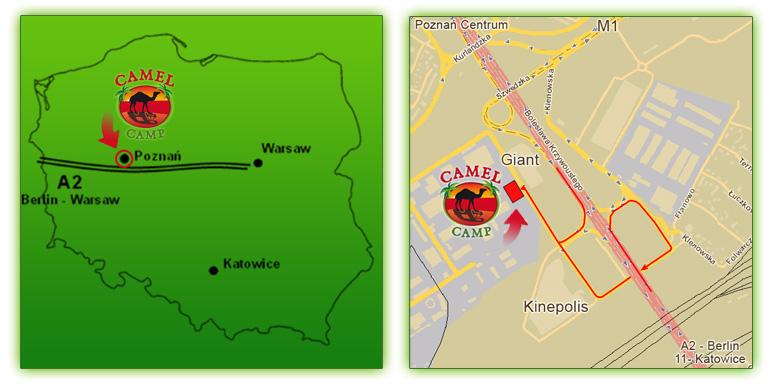 Mapa dla ang